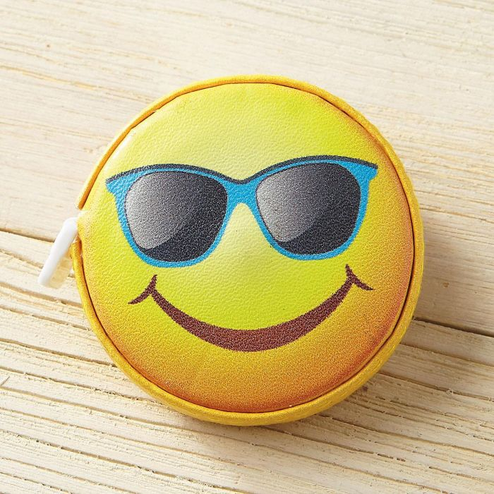 Happy Face Emoji Retractable Tape Measure