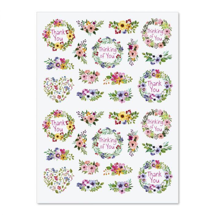 Spring Blossoms Stickers - BOGO