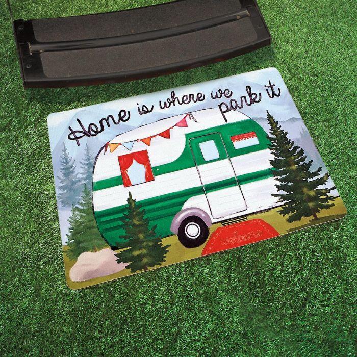 Happy Camper Doormat