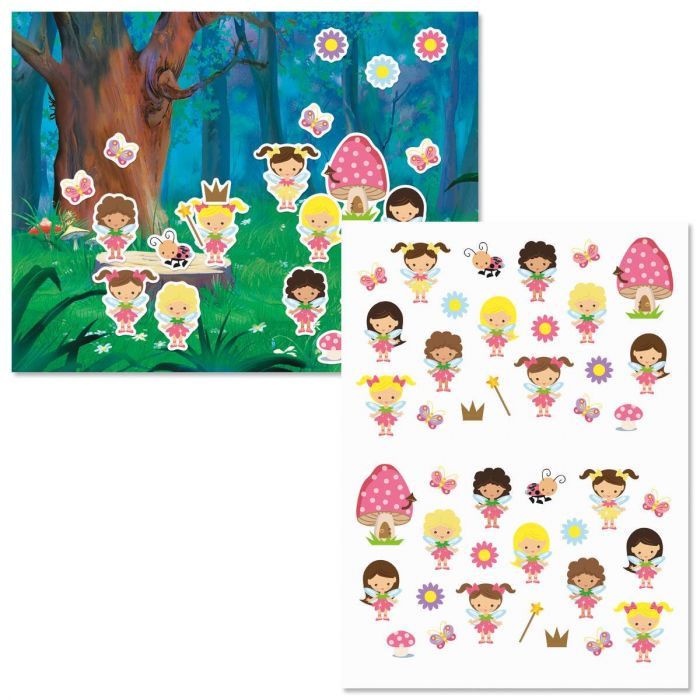 Sweet Fairyland Background Scenes and Stickers