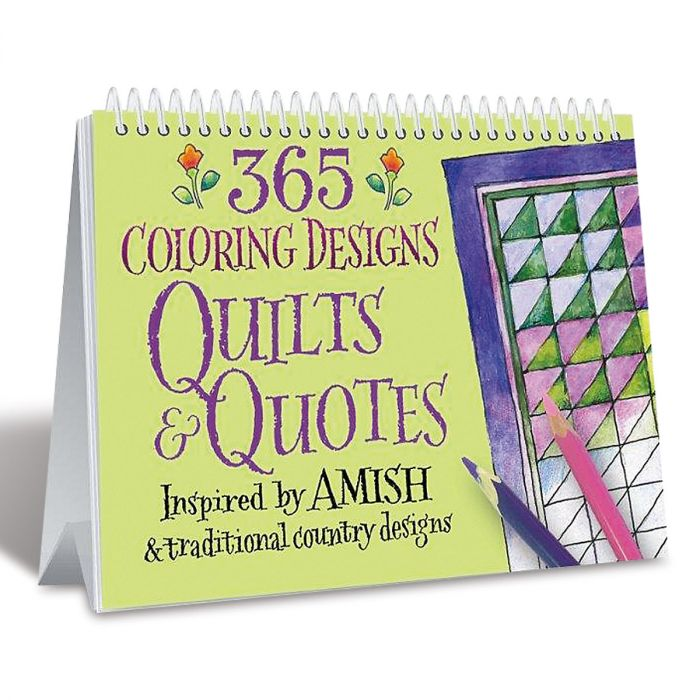 Quilts and Quotes Perpetual Calendar