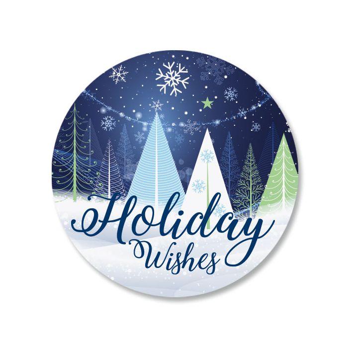 Holiday Trees Seals