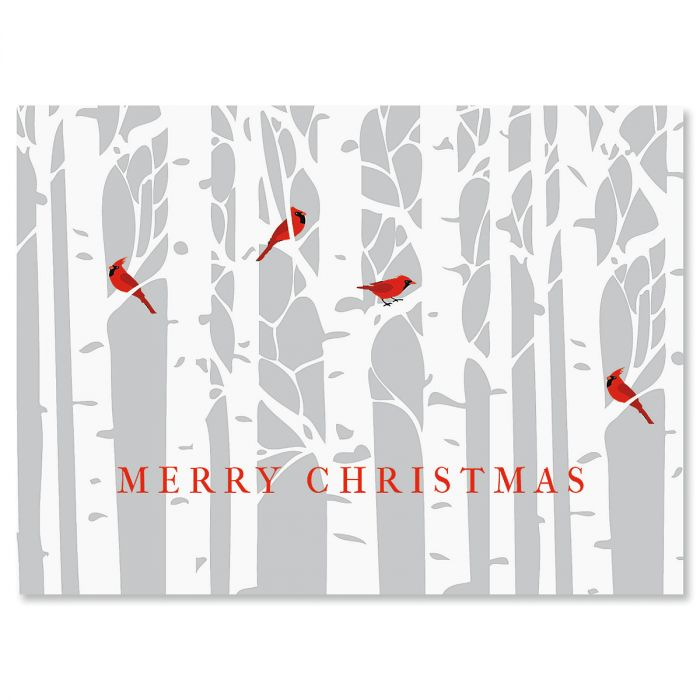 Birch Forest Christmas Cards