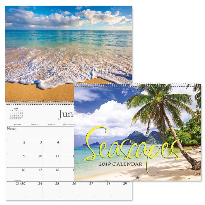 2019 Seascapes Wall Calendar