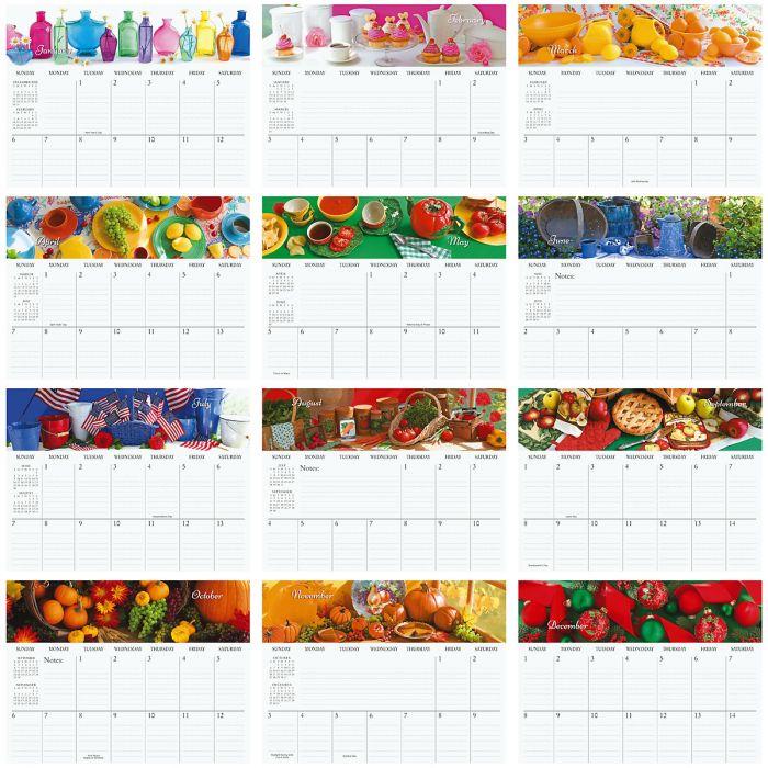 2019 All Hearts Come Home Big Grid Planning Calendar