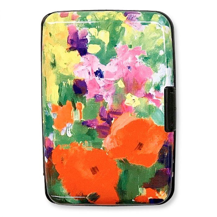 Beautiful Flowers RFID Armored Wallet