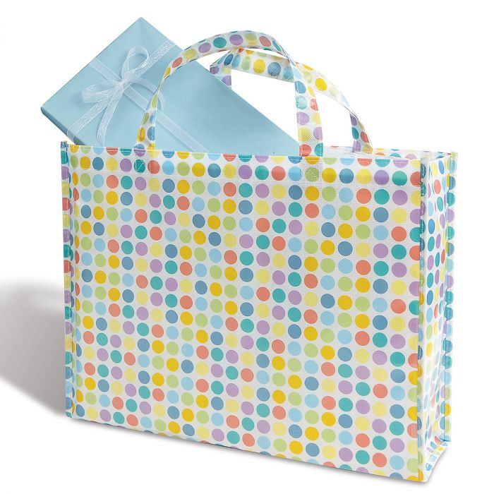 Spring Dots Tote Bag