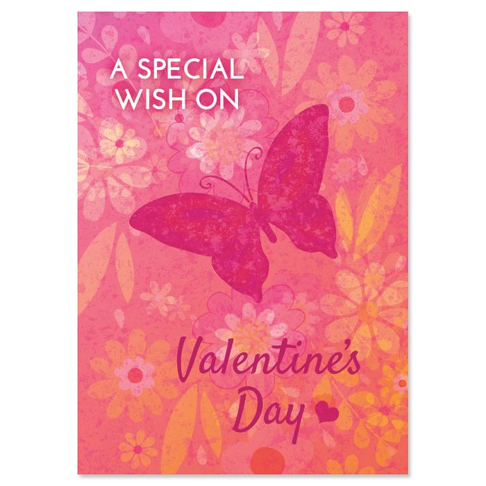 Butterfly Heart Valentine Cards