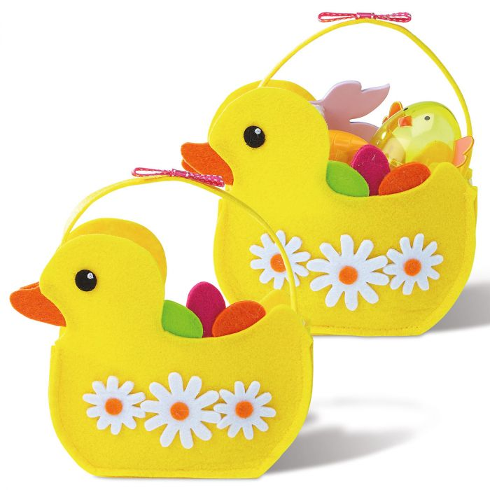Felt Easter Ducks Bags
