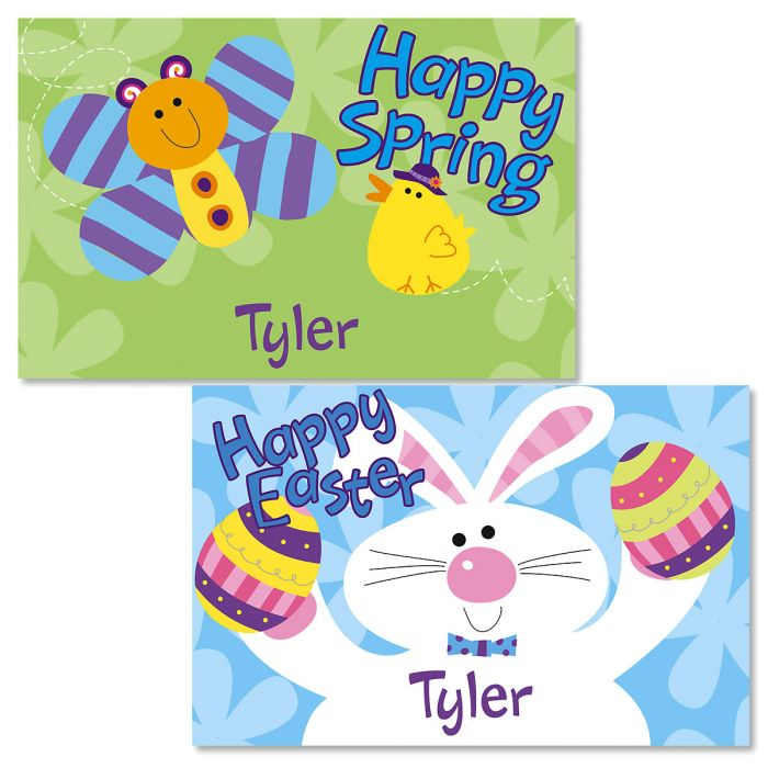 Blue Easter Kids' Placemats