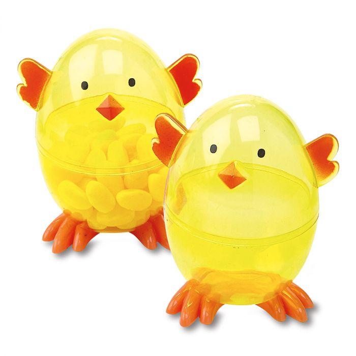Plastic Easter Chick Eggs