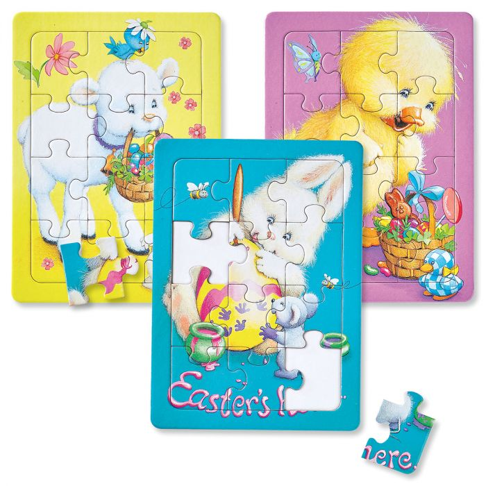 Easter Tray Puzzles