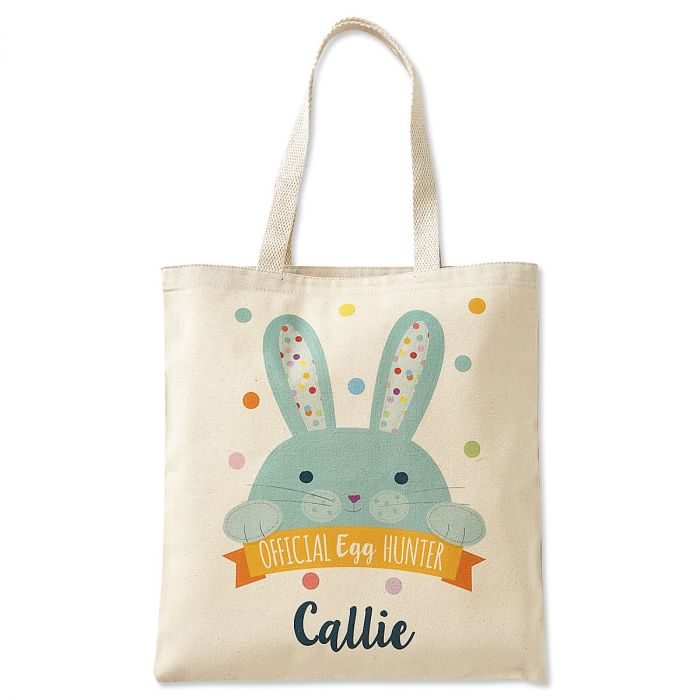 Kids Personalized Easter Egg-Hunter Tote