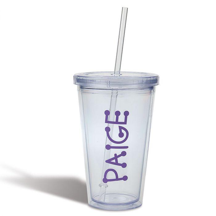 Acrylic Beverage Cup - Lavender