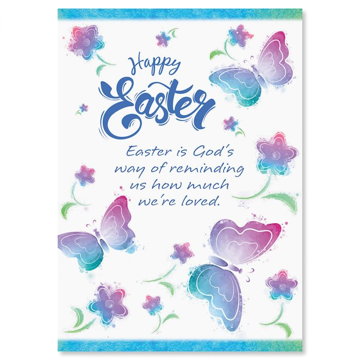 Butterfly Easter Cards