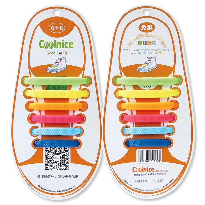Kids' Elastic Shoe Laces