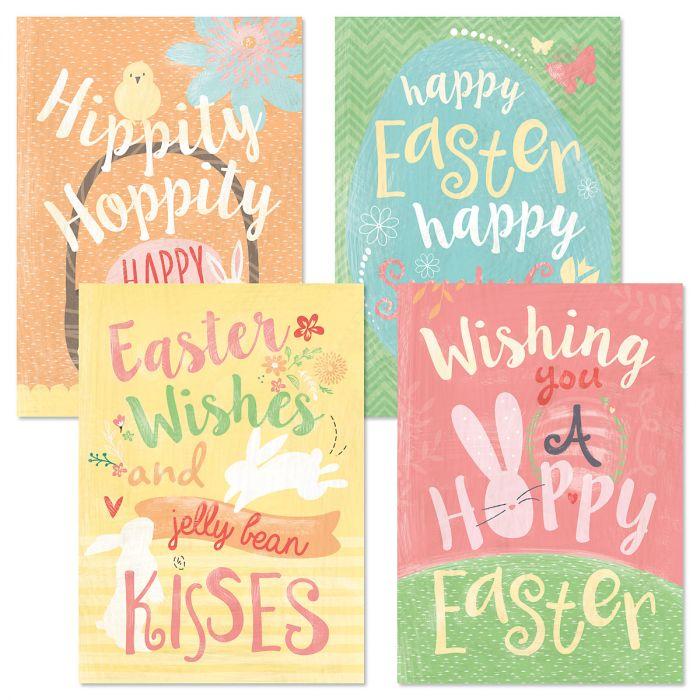 Hippity Hoppity Easter Cards