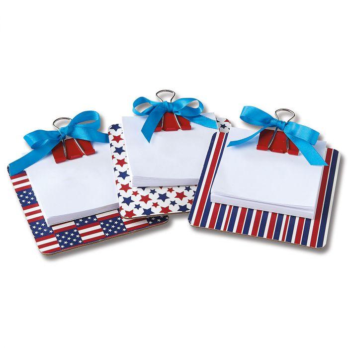 Patriotic Coaster Notes - BOGO