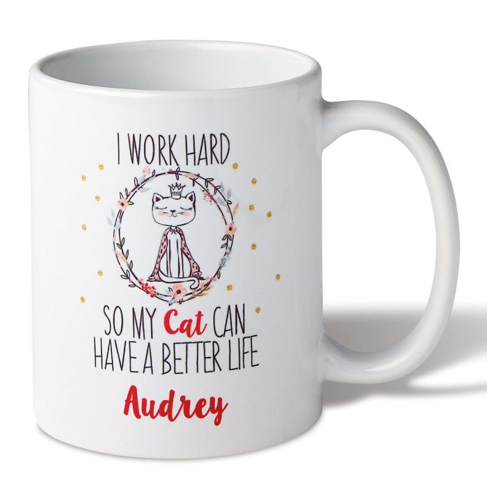 Personalized Work for Cat Mug