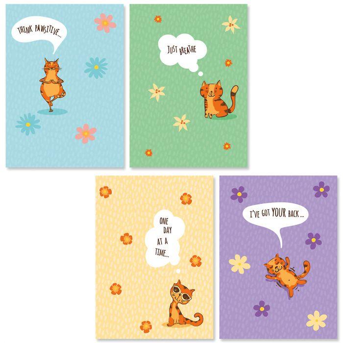 Just Breathe Friendship Cards