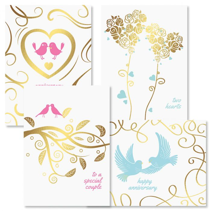 Deluxe Togetherness Anniversary Cards and Seals