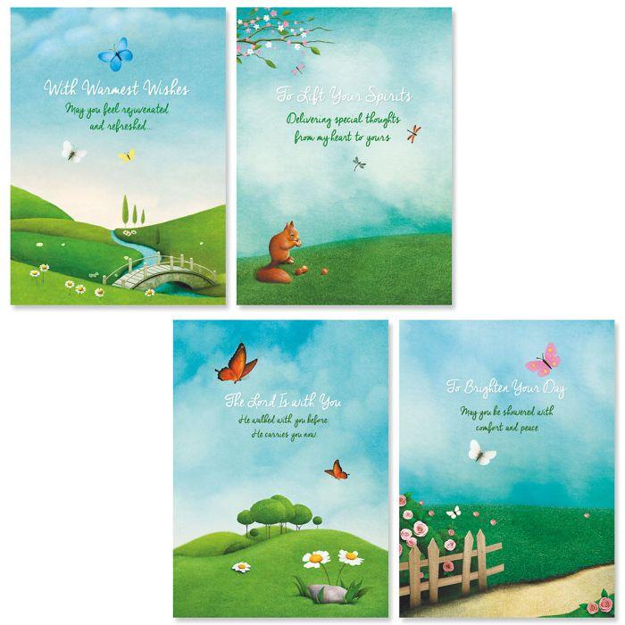 Scenic Concern Friendship Faith Cards