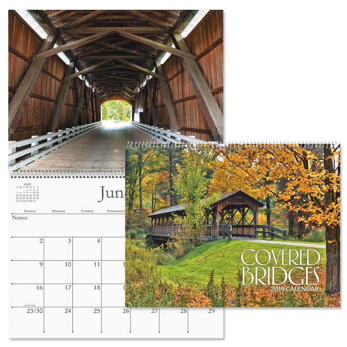 2019 Covered Bridges Wall Calendar