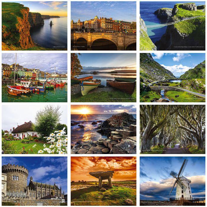 2019 Ireland Wall Calendar