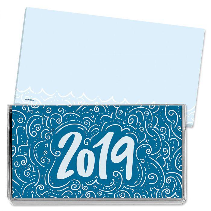 2019 Calligraphy Pocket Calendar
