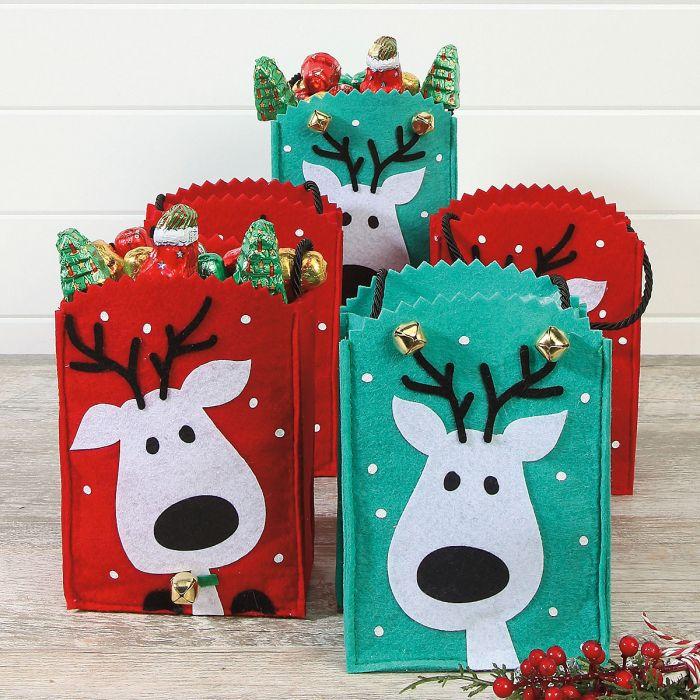 Reindeer Treat Bags