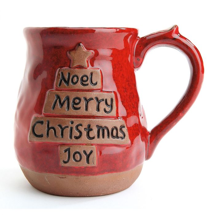 Noel Tree Ceramic Holiday Mug