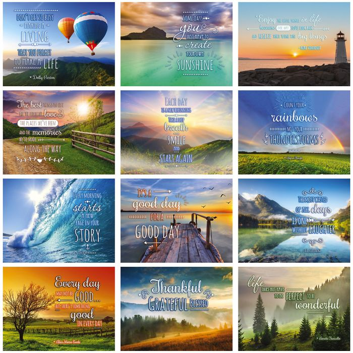 2019 Good Day Quotes Wall Calendar