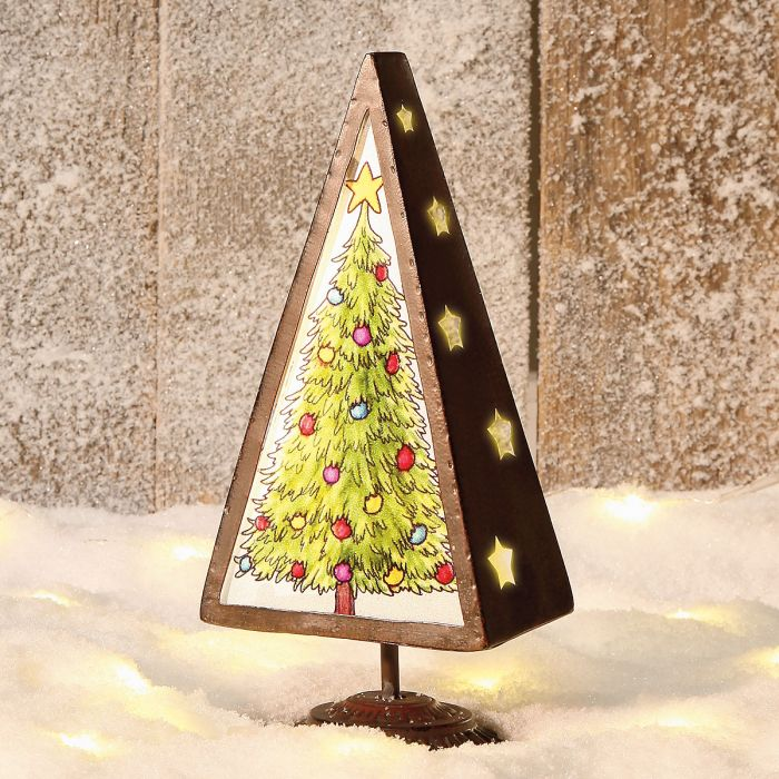 Candle Holder Christmas Tree