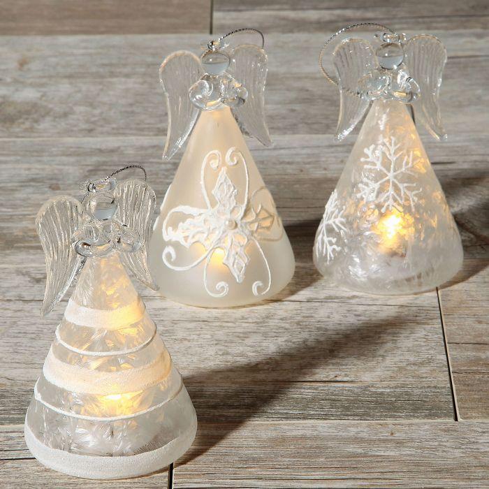 LED Lighted Angels