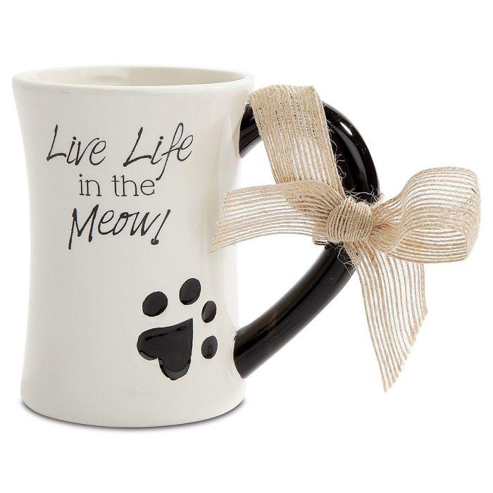 Cat/Meow Coffee Mug