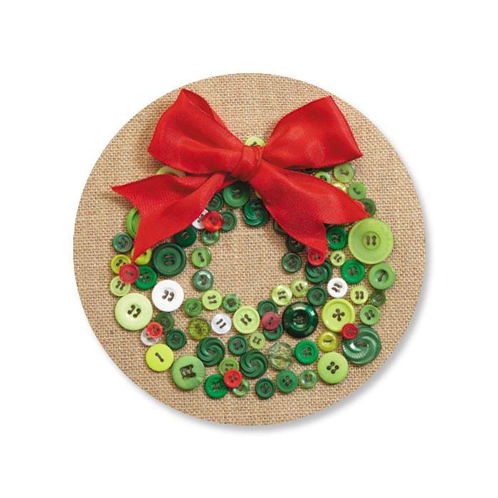 Button Wreath Seals