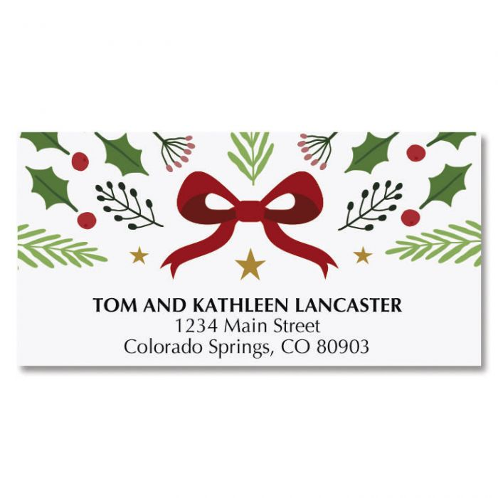 Love Was Born Deluxe Address Labels