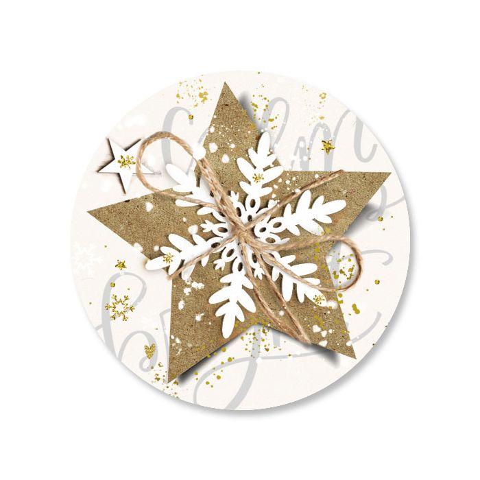Christmas Star Seals