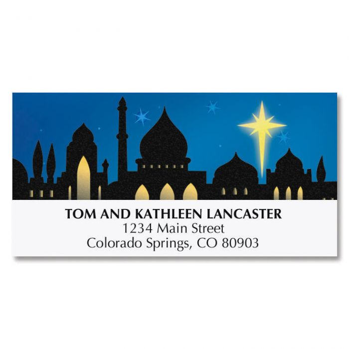Bethlehem Deluxe Address Labels
