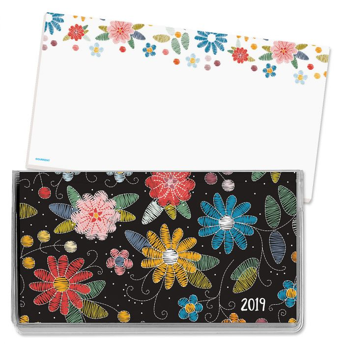 2019 Graphic Quilt Pocket Calendar