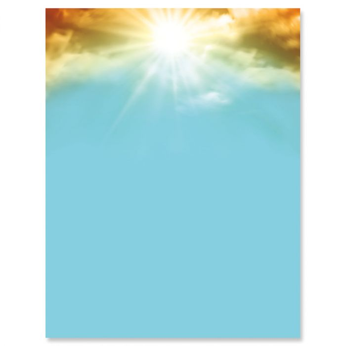 Sunrise Easter Letter Papers