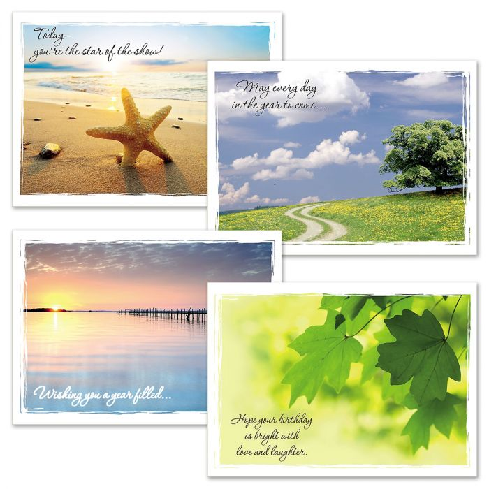 Nature's Wishes Faith Birthday Cards