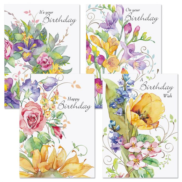 Sweet Remembrances Faith Birthday Cards and Seals