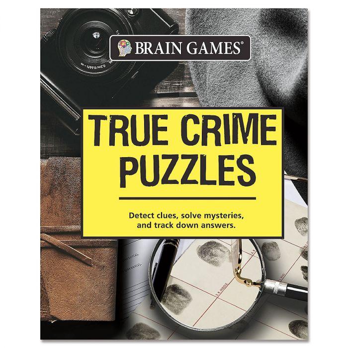 Brain Games™ True Crime Puzzles
