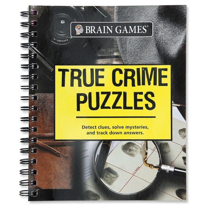 True Crime Puzzles Brain Games®