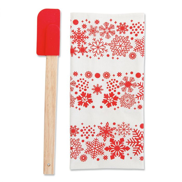 Christmas Towel and Spatula Gift Set