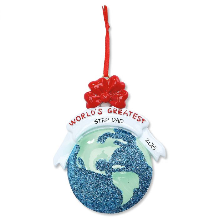World's Greatest Personalized Christmas Ornament