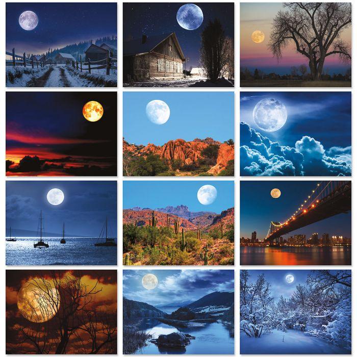 2020 Moonscapes Wall Calendar