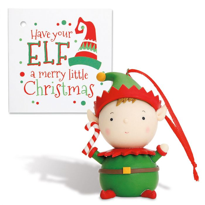Elf Ornament
