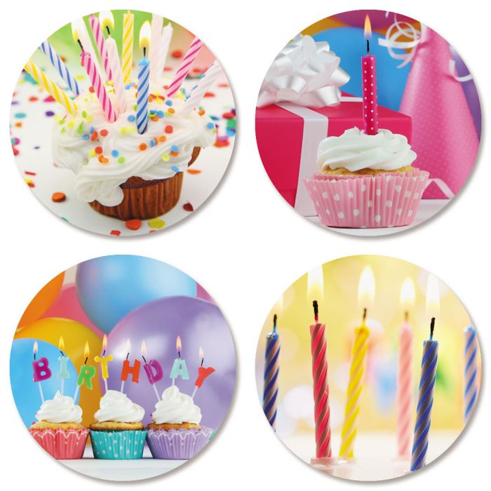 Birthday Celebration Seals (4 Designs)